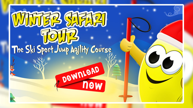 Winter Safari Tour : The Ski Sport Jump Agility Course - Gold Edition