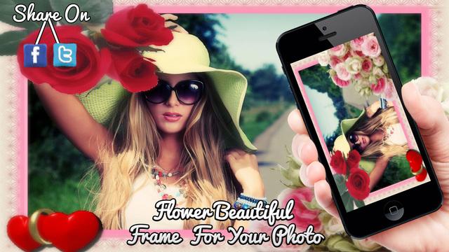 Flower Photo Frames -Photo Editor