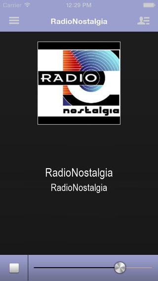 RadioNostalgia App