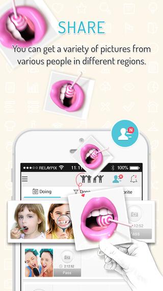 【免費攝影App】RELAYPIX - Endless Photo Relay-APP點子