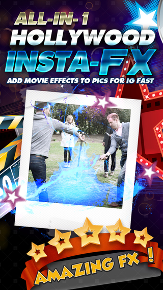 All-in-1 Hollywood Insta-FX Add Movie Effects Edits to Pics for IG Fast FREE