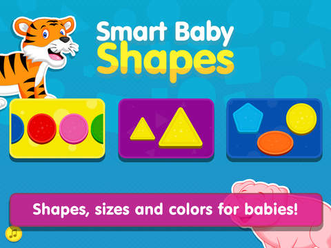 Smart Baby Shapes Lite - Colors and Shapes Sorting & Learning Game for Toddlers / Educational Games for Preschool Kids Free screenshot
