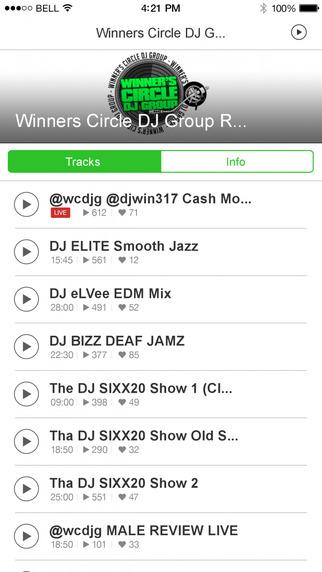 Winners Circle DJ Group Radio