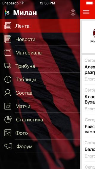 Sports.ru - Милан edition