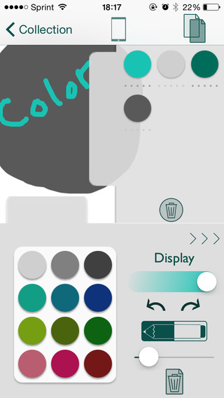 The Color App - Color Palette Selection Tool