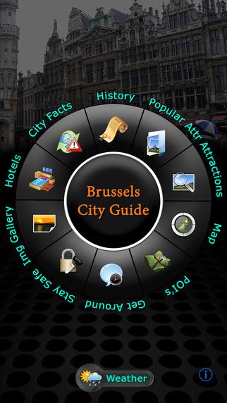 Brussels Offline Map Travel Guide
