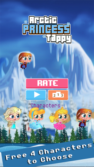 Arctic Princess Tappy Queen
