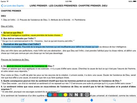 Le Livre des Esprits iPad Screenshot 2
