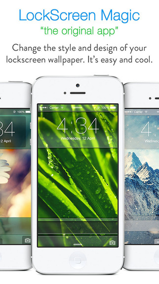 LockScreen Magic for iOS8 : Custom Themes Backgrounds and Wallpapers for Lock Screen