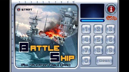 Battleship Multiplication Tables Game