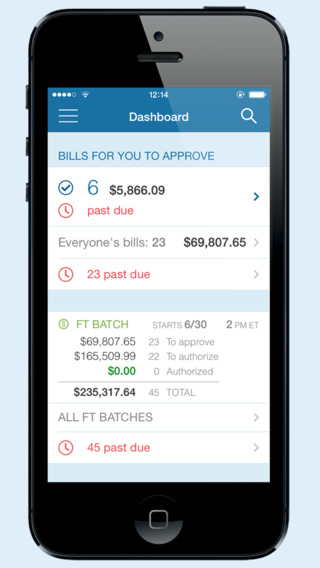 Anybill Mobile App