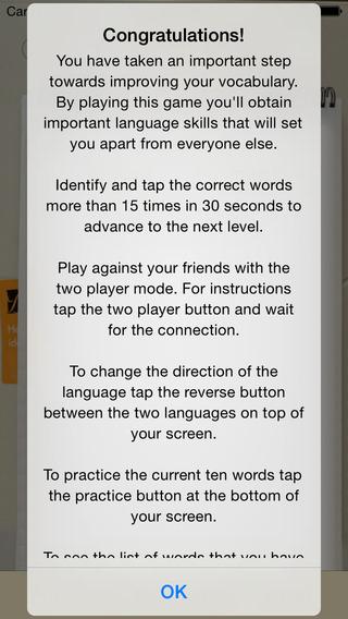 BidBox Vocabulary Trainer: English - Polish iPhone Screenshot 4