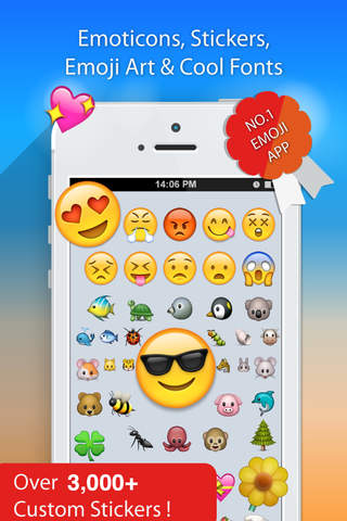 Emoji 2 Emoticons Art App Free New Smiley Symbols Icons For Text