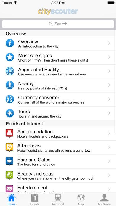 Lyon Travel Guide Offline iPhone Screenshot 5