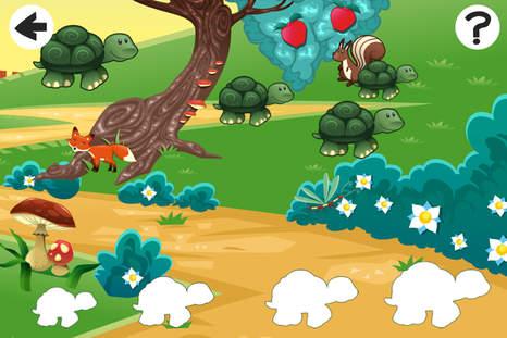 森林儿童游戏的动物分类学和逻辑思维