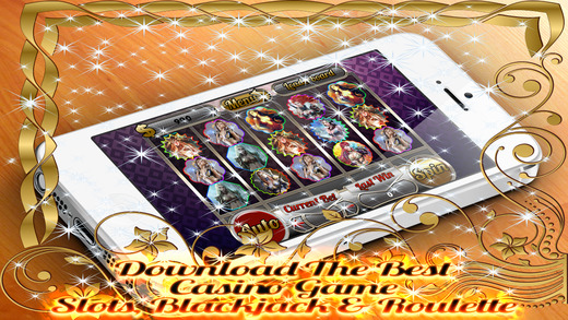 AAA Aattractive Witches Casino 3 games in 1 - Roulette Blackjack and Slots