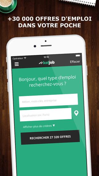 Keljob : Offres d'emploi en France en CDI stage et intérim