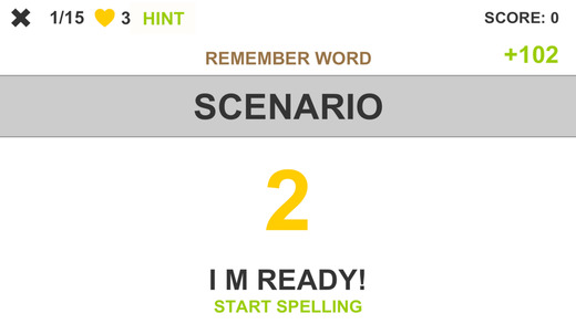 Spelling Words - Best Free English Spelling Educational Word Game