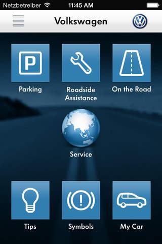Volkswagen Service (IE) screenshot 1