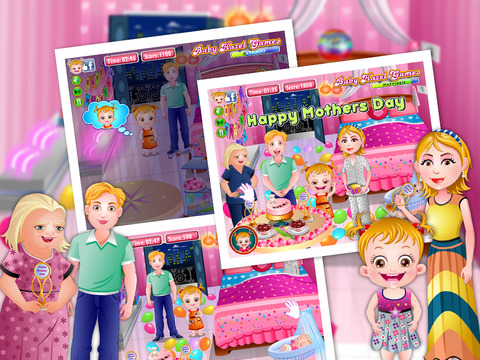 Baby Hazel Mothers Day screenshot