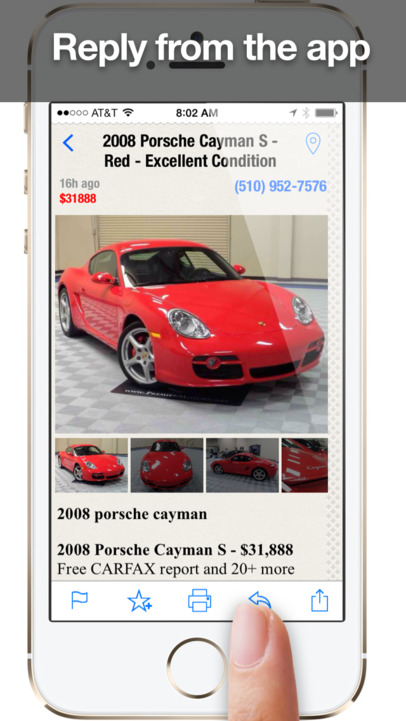 Daily, an app for craigslist for iPhone and iPad - Shopping, Cars, Dating, Jobs + Other Mobile Classifieds (Free Version) - iPhone Mobile Analytics and App Store Data