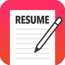 Resume Mobile Pro - design & share professional PDF resume on the go - iOS Store App Ranking and App Store Stats
