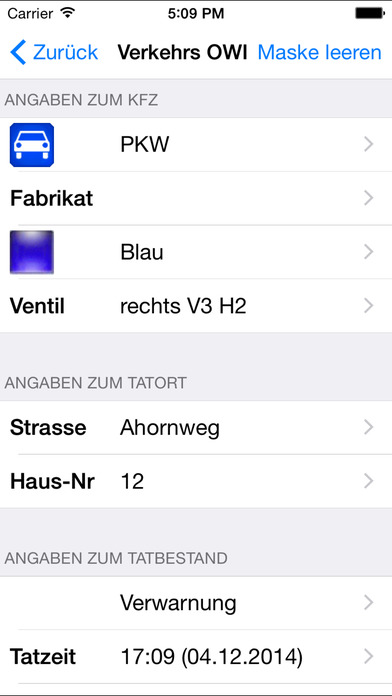 Winowig mobil iPhone Screenshot 1