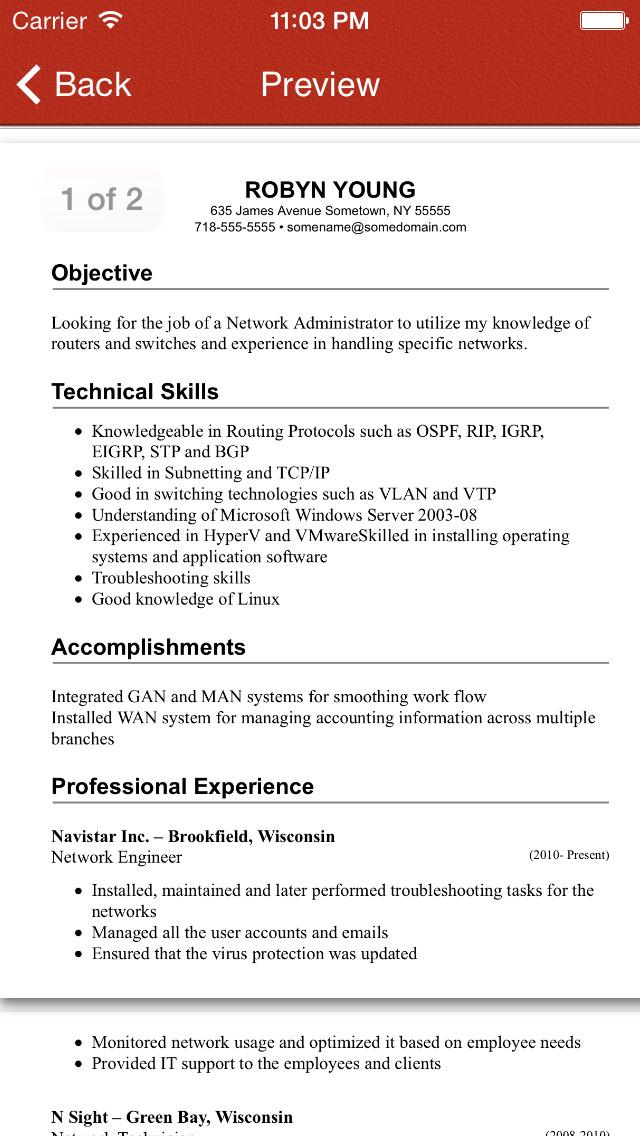 Order resume online 1 2 2 apk