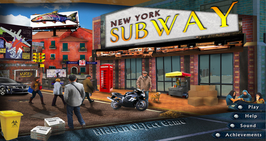 New York Subway - Free Hidden Object Games
