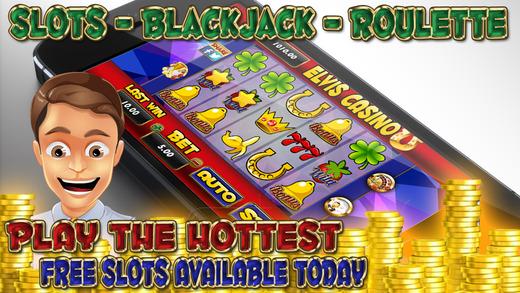 A Aaron Luxury Elvis Casino Slots - Roulette - Blackjack 21