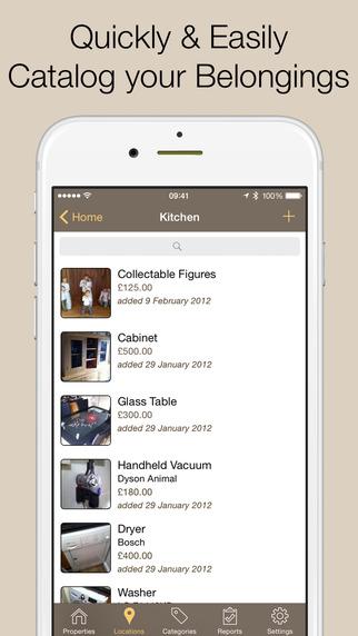Home Contents – 家具物品收纳等级工具[iOS]丨反斗限免