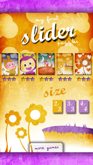 My first slider puzzles iPhone Screenshot 2