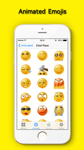 AA Emojis Extra & Animated Emoji keyboard Screenshots
