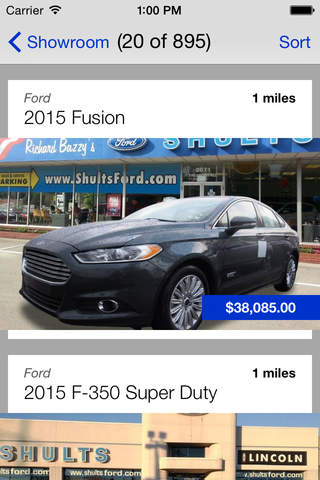 Richard Bazzy's Shults Ford Lincoln DealerApp screenshot 3