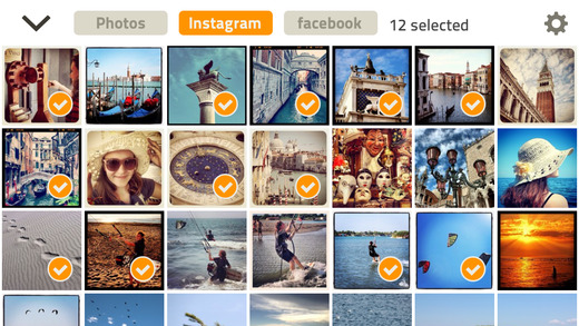 Bookagram - Turn your Instagram Facebook photos into Photo book