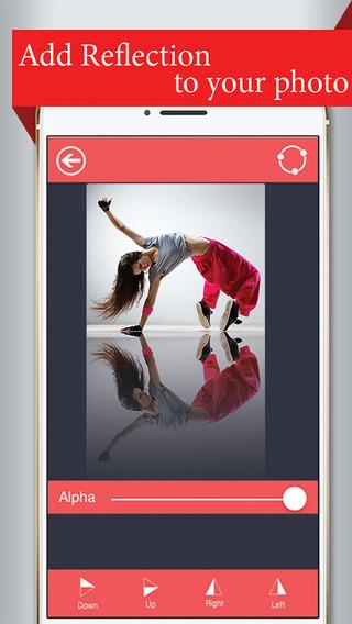 Image Reflector - Free photo mirror app