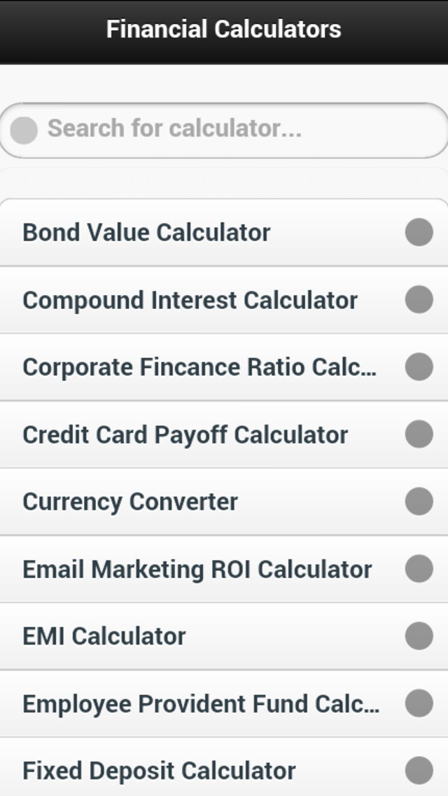 Ace Financial Calculator