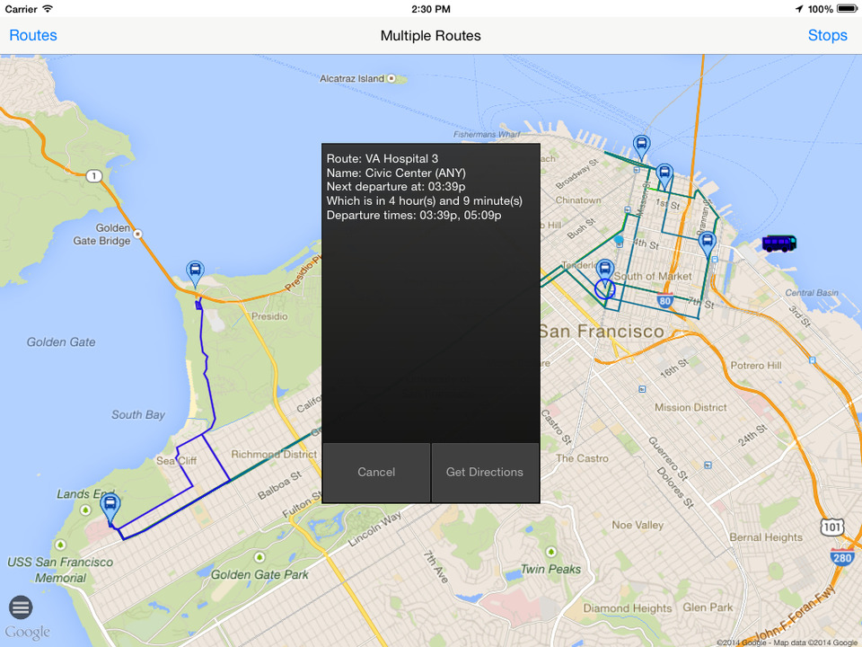 Bauer Tracker screenshot Bauer Tracker