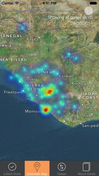 Ebola Tracker