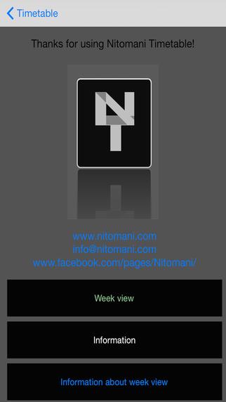Timetable Pro -Nitomani