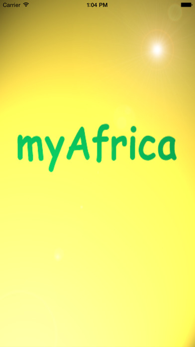 myAfrica - Learn the countries and capitals of Africa iPhone Screenshot 1