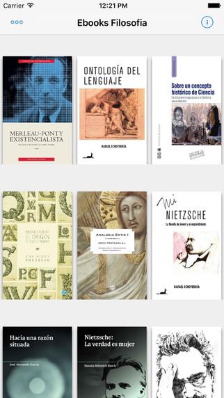 Ebooks de Filosofía en Biblioteca Digital Gratuita