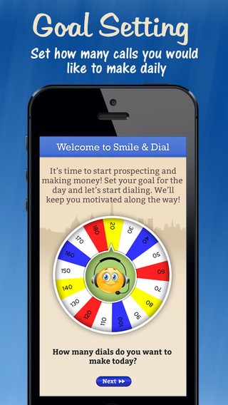 Smile Dial: Sales Tracker