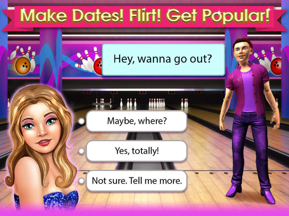 online flirting and dating games