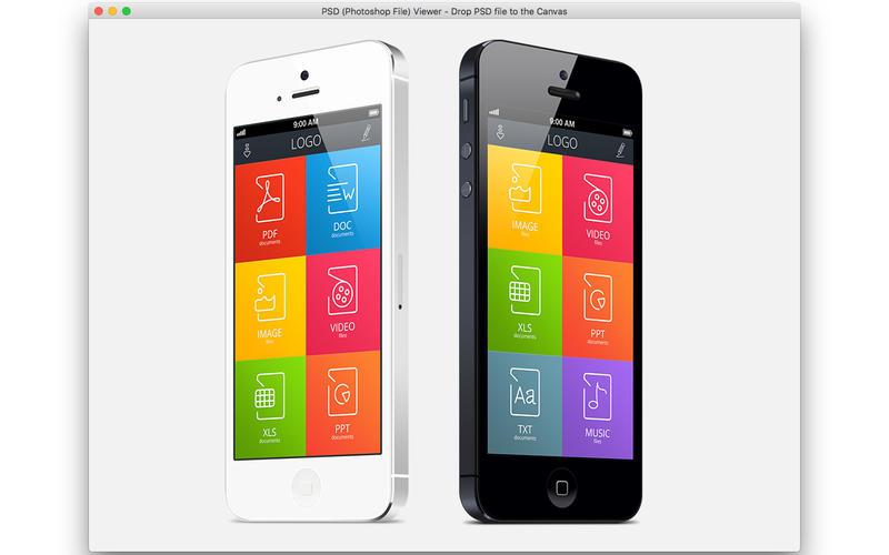 PSDViewer Screenshot - 2