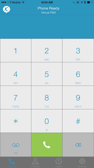 Virtual PBX Softphone