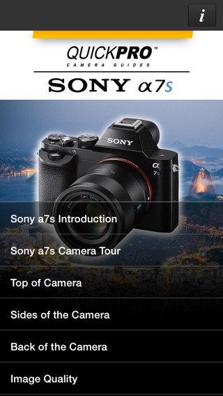 Sony a7s from QuickPro