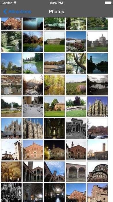 Milan Travel Guide Offline iPhone Screenshot 2