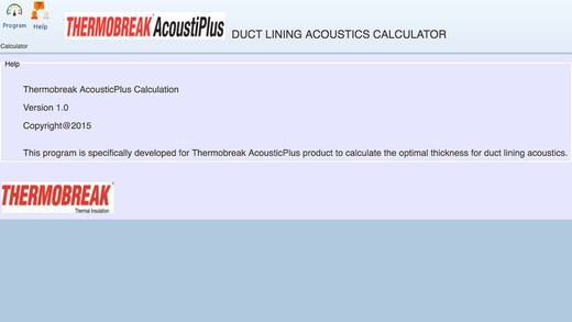 Thermobreak AcoustiPlus Calculation