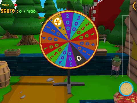 Cats slot machine for kids iPad Screenshot 2